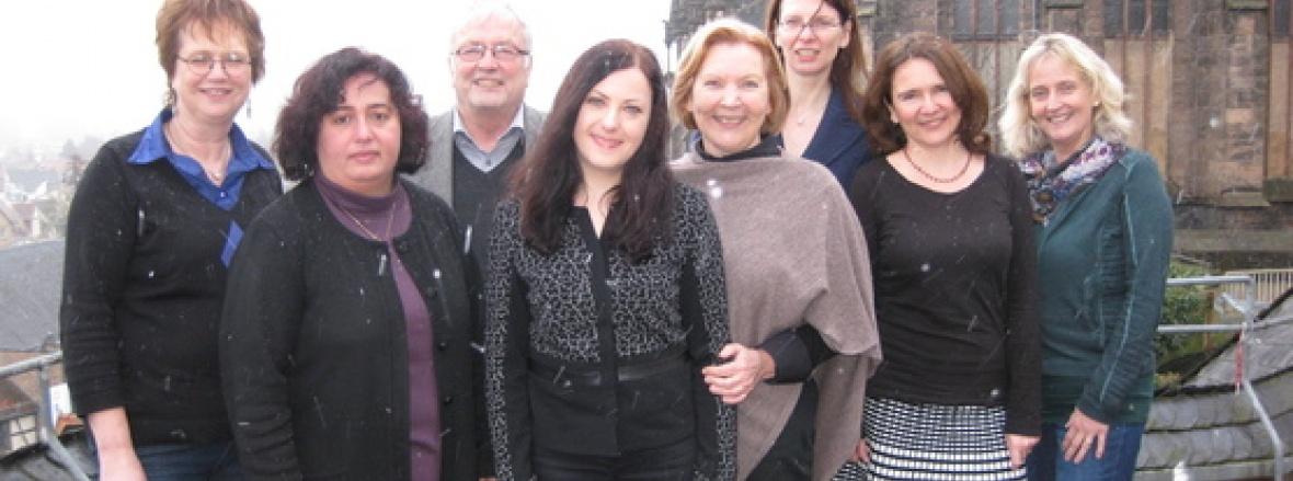 Der Vorstand der Frauen Union