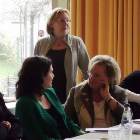 Landeshauptausschuss und Kreisvorsitzenden der Frauen Union am 21. April 2012 in Idstein